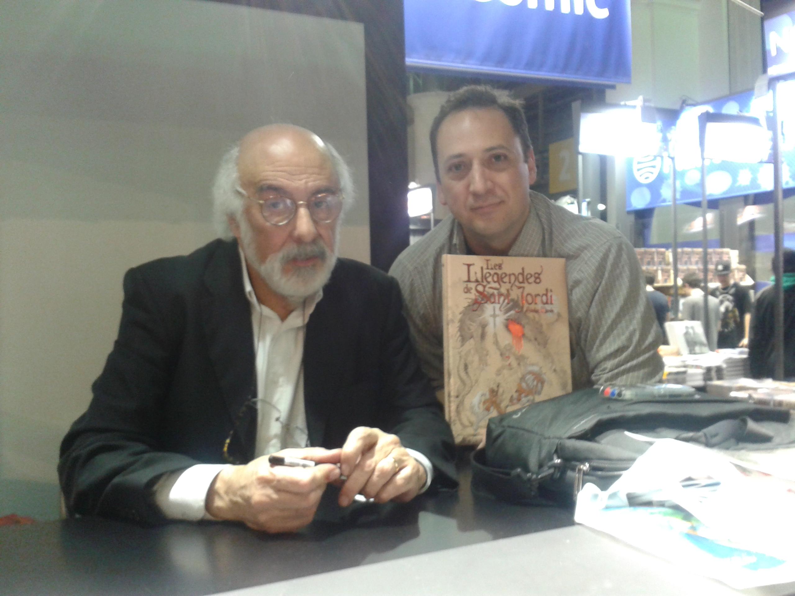 Entrevista con Esteban Maroto en el Saló del Cómic de Barcelona 2015