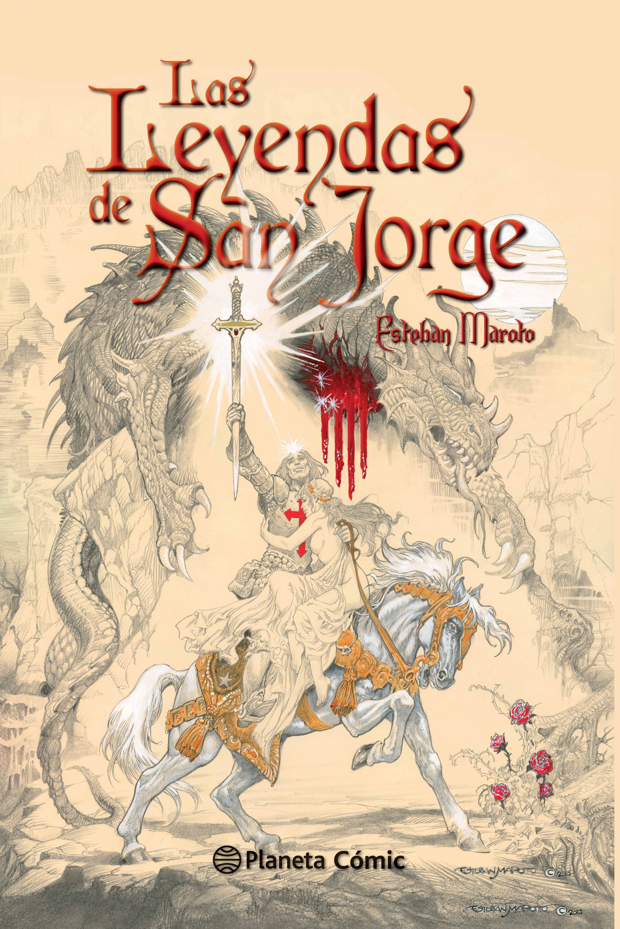 Reseña: «Las Leyendas de San Jorge», de Esteban Maroto