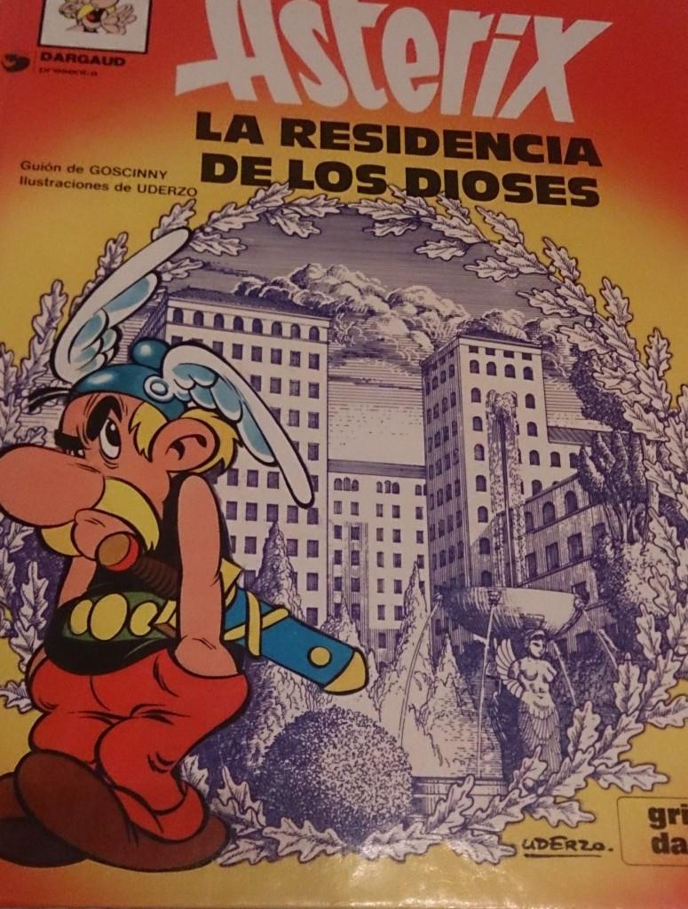 #SemanaAsterix: La Residencia de los Dioses.