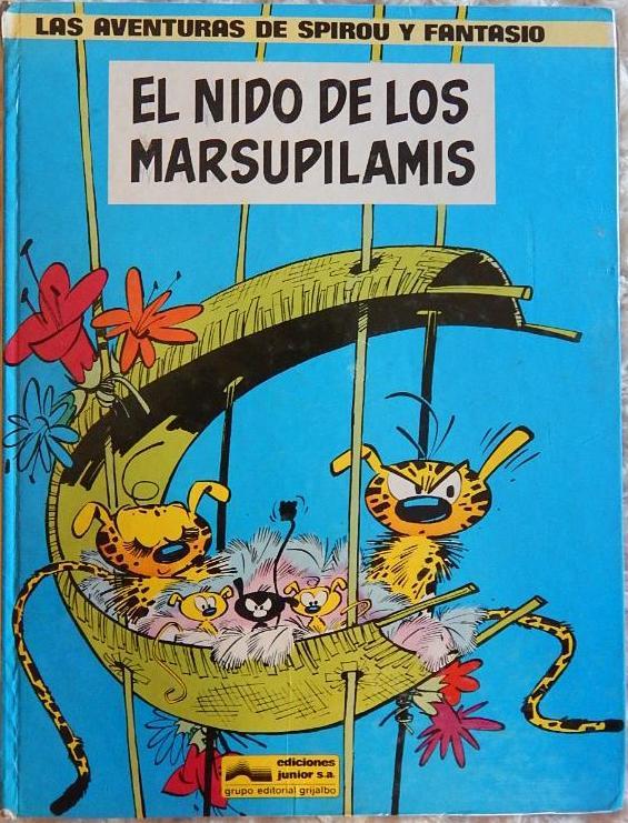 Reseña El nido de los Marsupilamis