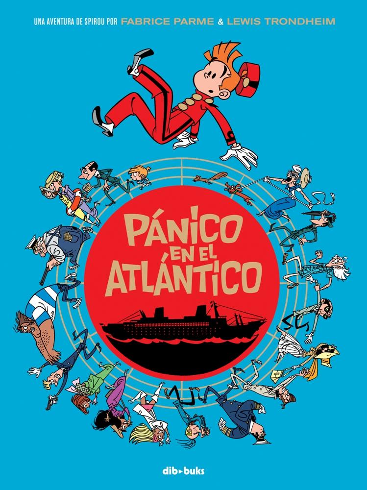 Reseña: Spirou Panico en el Atlantico