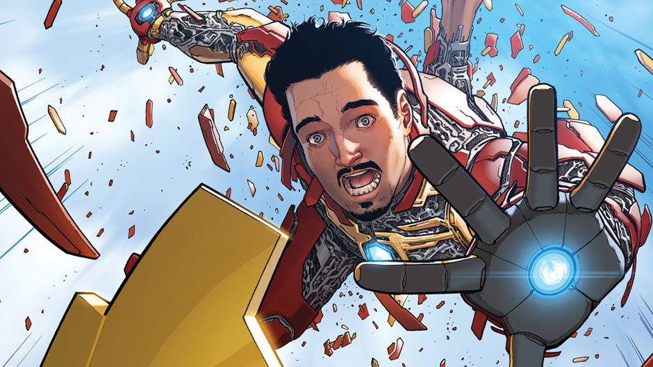 miniTortas: All-new All-different Marvel Now. Invencible Iron Man