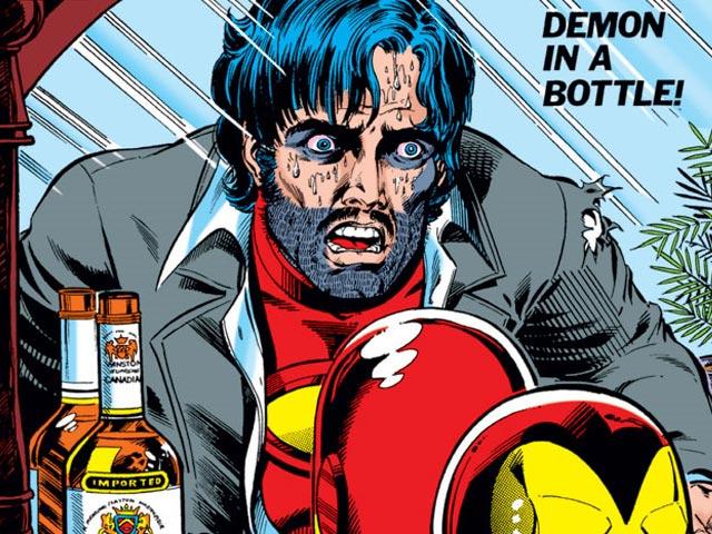 miniTortas: Iron Man. El demonio en una botella
