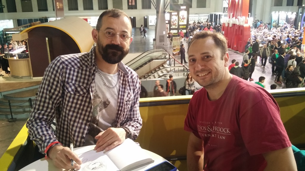 MiniTorta: Entrevistas a autores en el Saló del Cómic de Barcelona