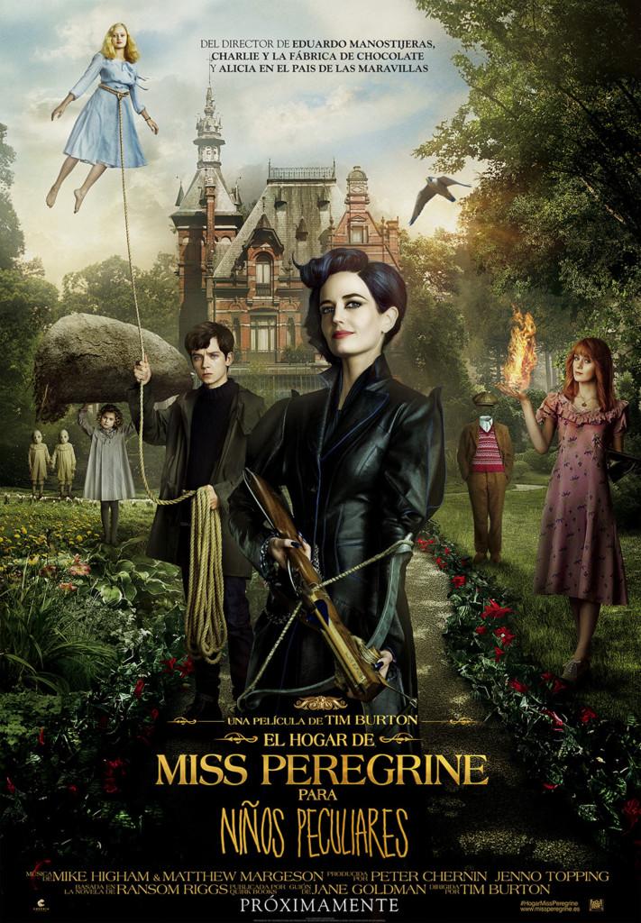 Cine: El hogar de Miss Peregrine para niños peculiares, de Tim Burton