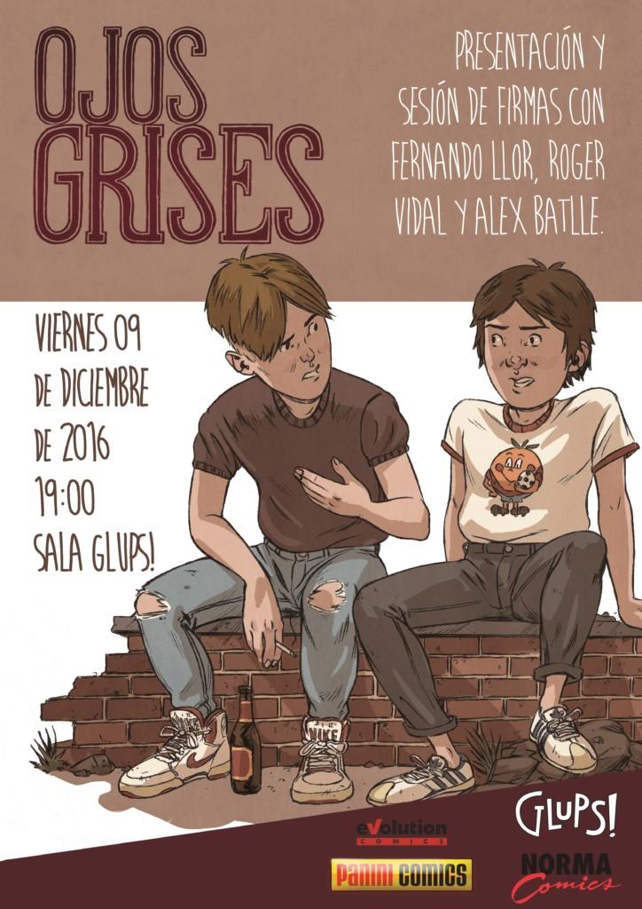 Presentación de Ojos Grises en Barcelona