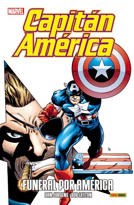 Capitán América: Funeral por América