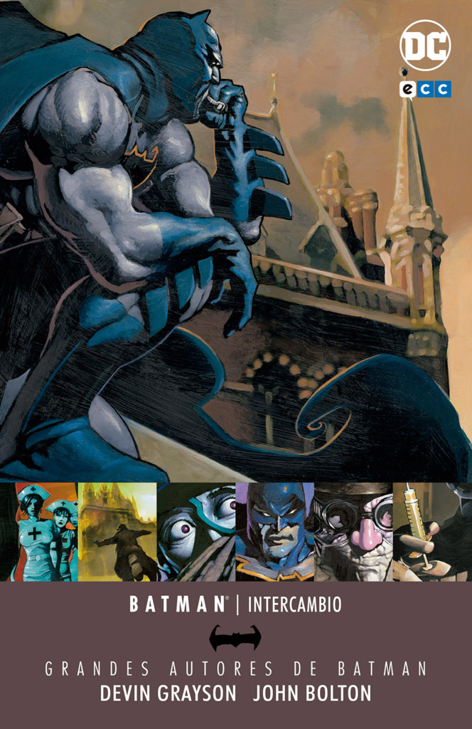 Reseña: GGAA Batman: Intercambio, de Grayson & Bolton