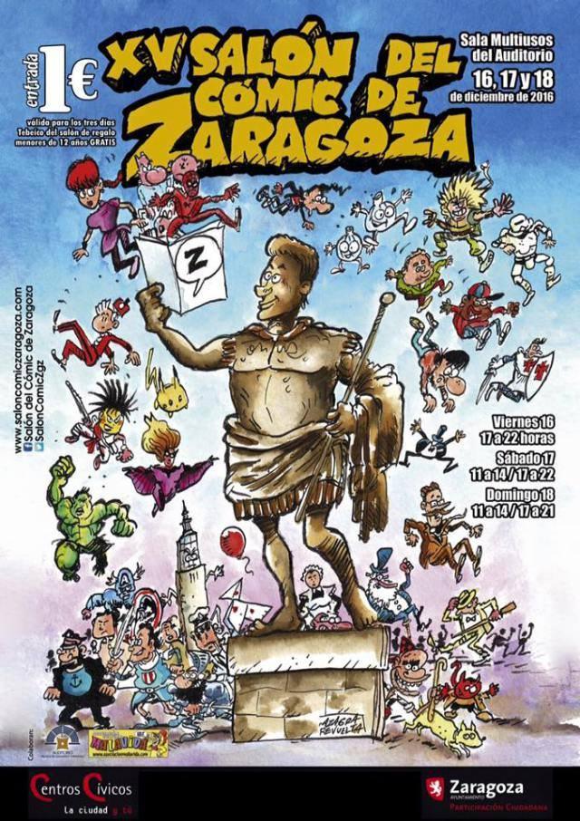 Nowevolution en el Salón del Cómic de Zaragoza 2016