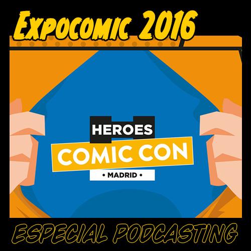 Guia de lectura. Podcast en directo desde la Expocomic Madrid 2016.