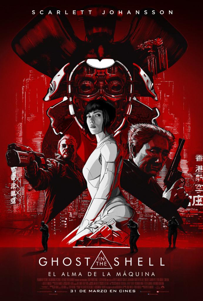 Nuevo poster y vídeo de «Ghost in the Shell»