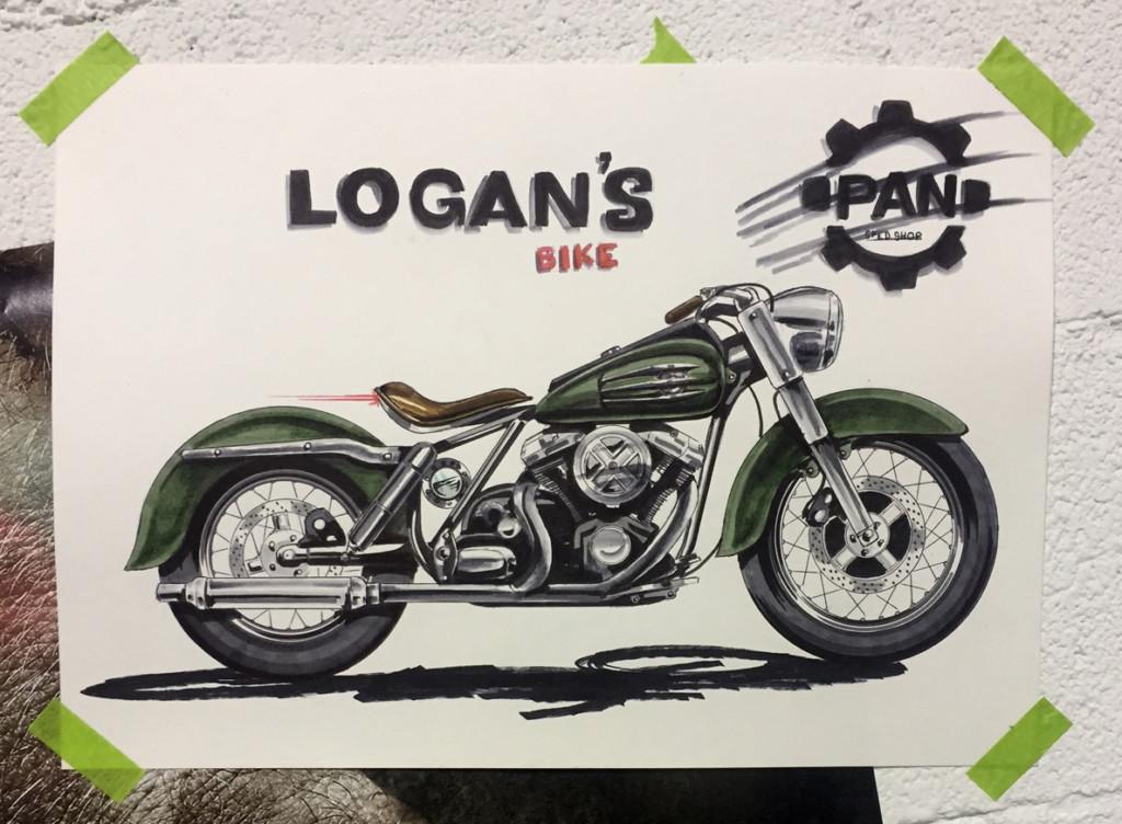 Descubre la Moto de Logan