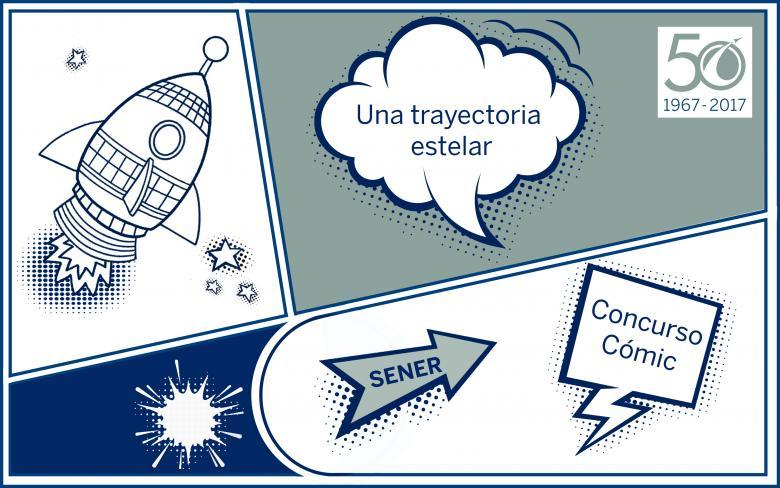 Concurso de Cómic SENER en Espacio