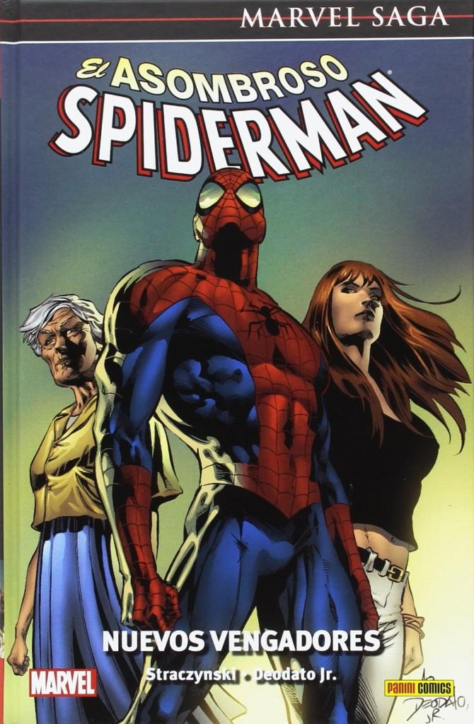 Reseñas desde Star City: Marvel Saga Spiderman 8. Nuevos Vengadores