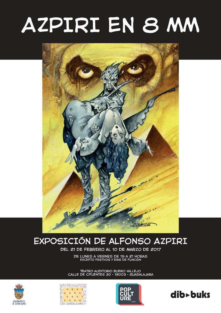 Exposición «Azpiri en 8 mm»