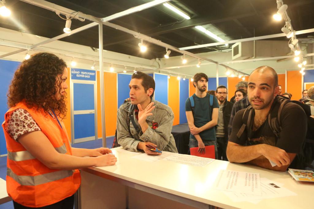 Entrevistas profesionales en el Salón del Cómic de Barcelona