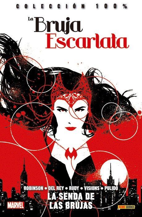 Reseña La Bruja Escarlata. 100% Marvel #1