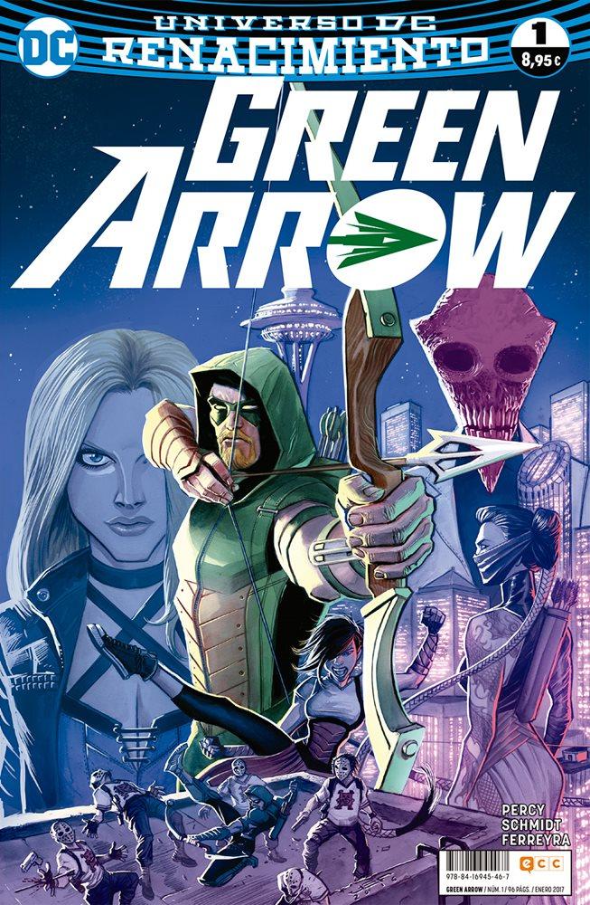 Reseña Green Arrow Renacimiento #1