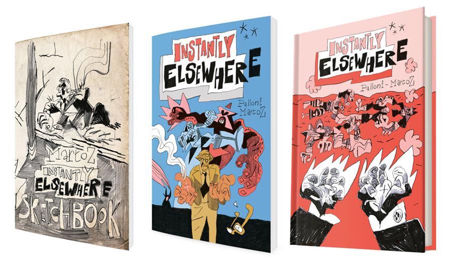 Instantly Elsewhere, de Lorenzo Palloni & Martoz, nueva campaña de Spaceman Project