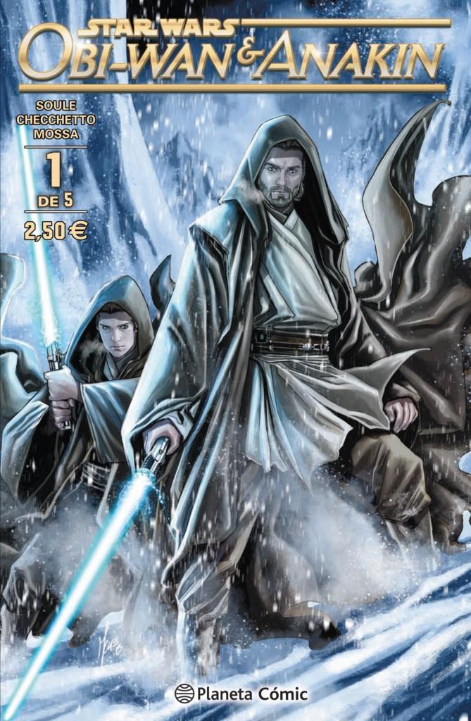 Reseña: Obi-Wan & Anakin, de Soule & Checchetto