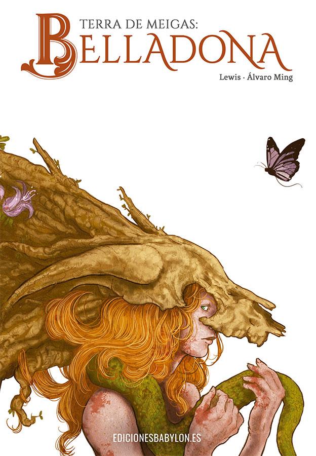 Ediciones Babylon presenta Terra de Meigas: Belladona, un cómic de Lewis y Álvaro Ming
