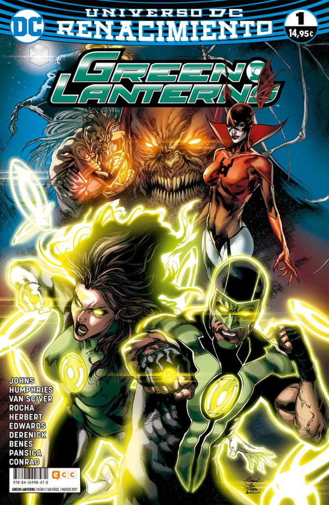 Green Lanterns nº1 (Renacimiento)