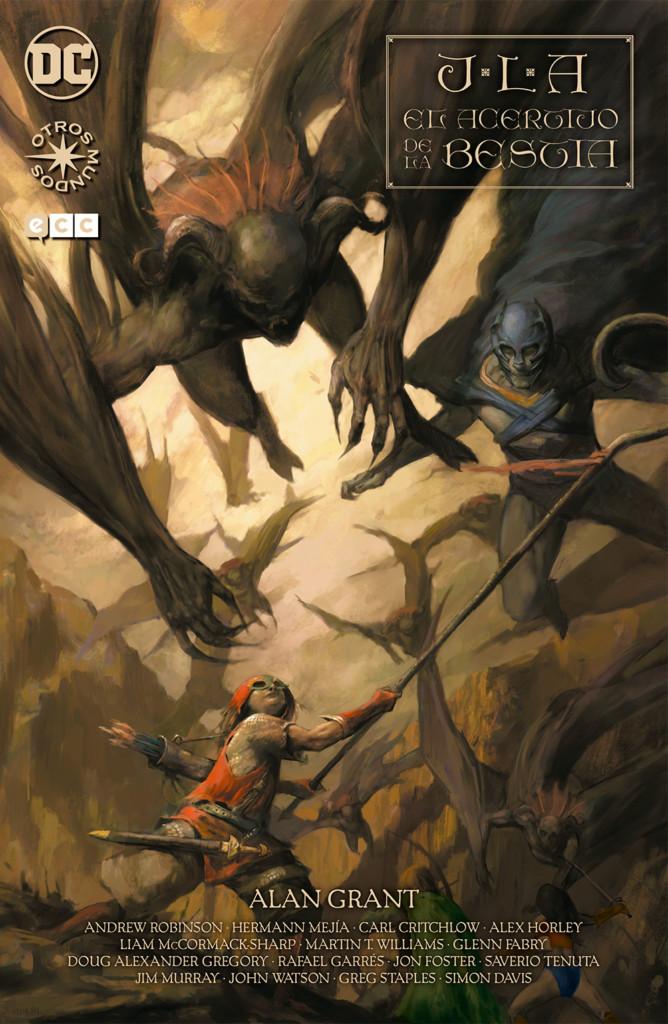 Reseña: JLA: El Acertijo de la Bestia, de Alan Grant