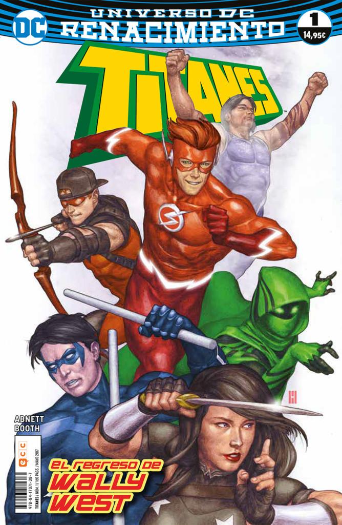 Titanes nº1: El regreso de Wally West (Renacimiento)