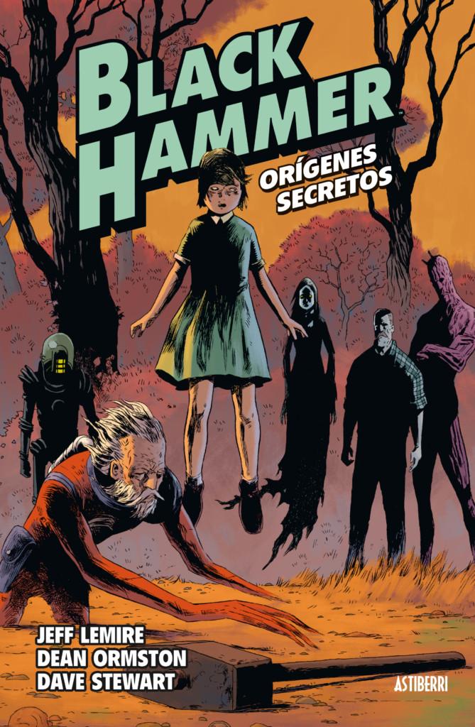Reseña de Black Hammer: Orígenes Secretos
