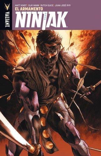 Reseña de Ninjak 1: El Armamento.
