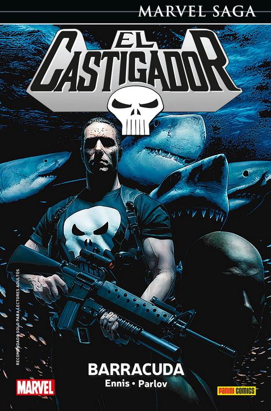 Reseña de Marvel Saga El Castigador 7. Barracuda