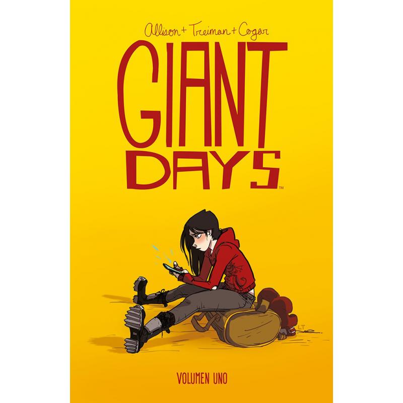 Reseña de Giant Days 1