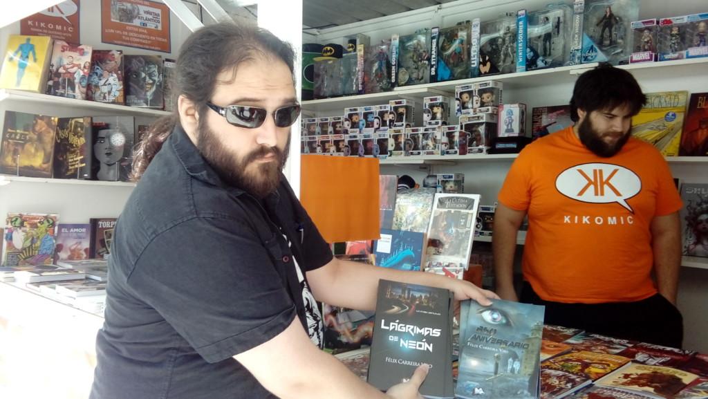 Entrevista a Felix Carreira, escritor cyberpunk.
