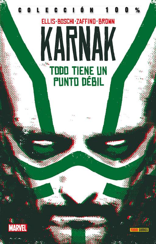100% Marvel. Karnak: Todo tiene un punto débil