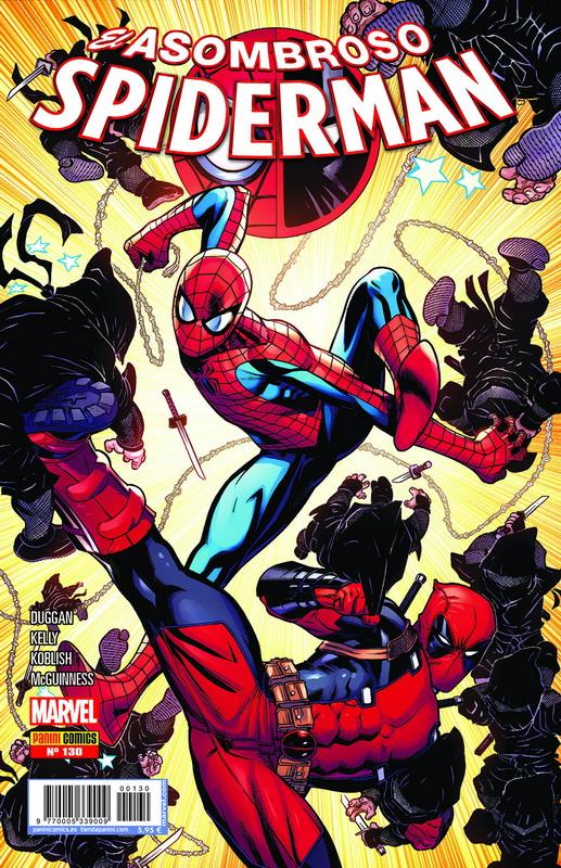 Asombroso Spiderman 130: Spiderman / Masacre 3