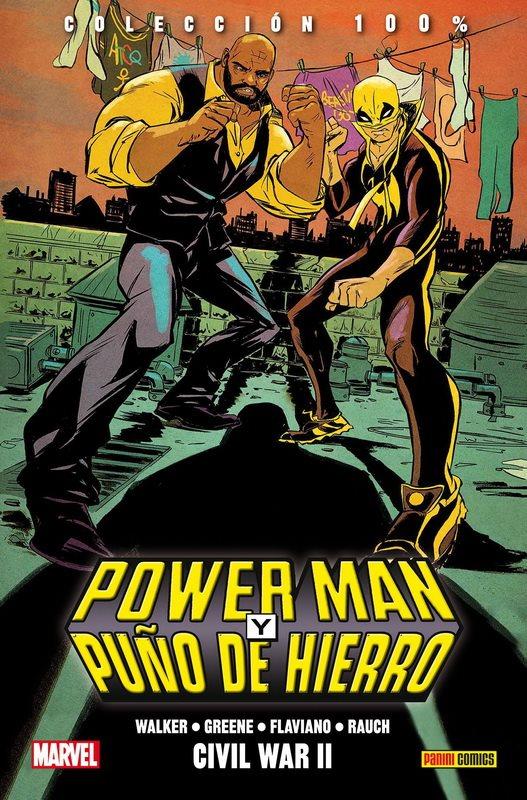 Reseña Power Man y Puño de Hierro. Civil War II