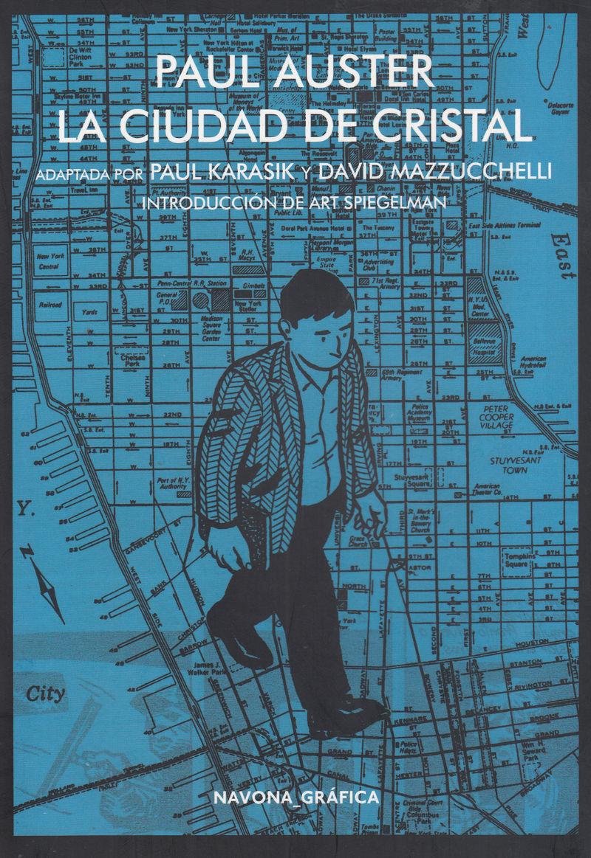 Reseña de La ciudad de Cristal, la novela gráfica