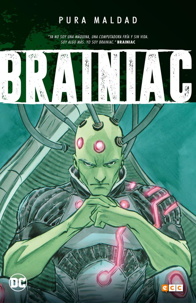Pura maldad: Brainiac portada