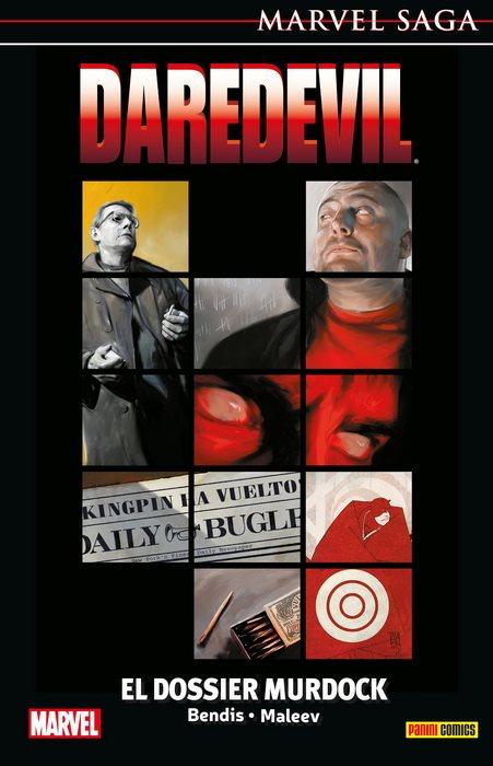 Marvel Saga 48. Daredevil 14. El Dossier Murdock portada