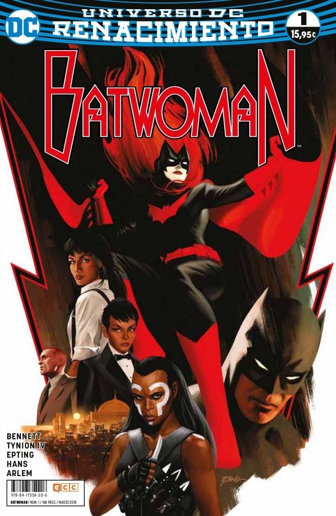 batwoman 1 renacimiento