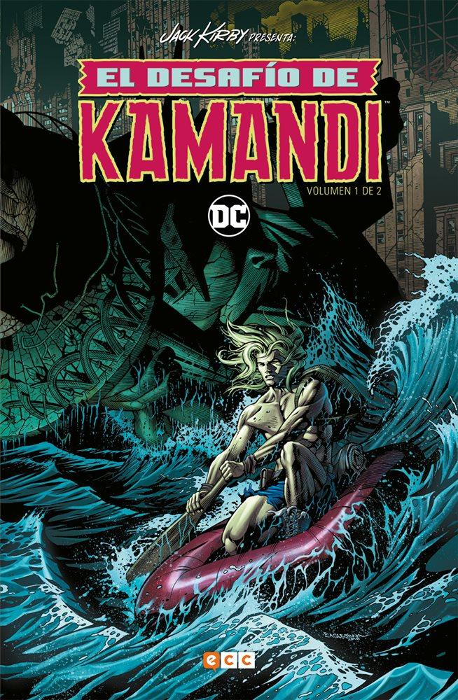El desafío de Kamandi nº1 portada
