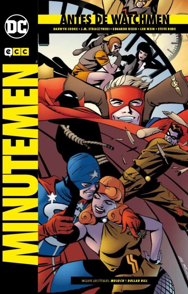 Antes de Watchmen: Minutemen (ECC Ediciones, 2018)