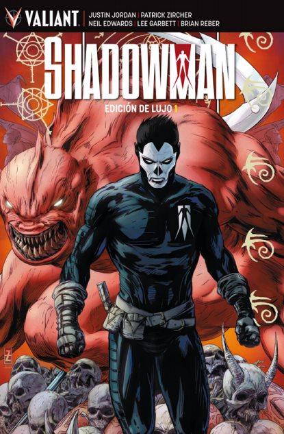 Shadowman. Edición de lujo nº1 portada