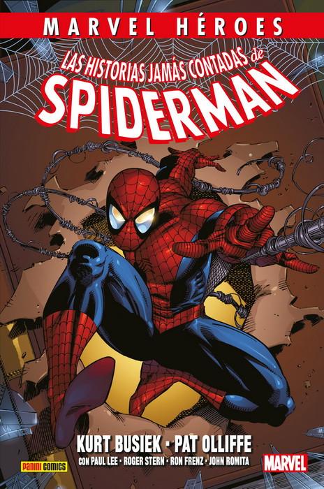 las historias jamas contadas de spiderman