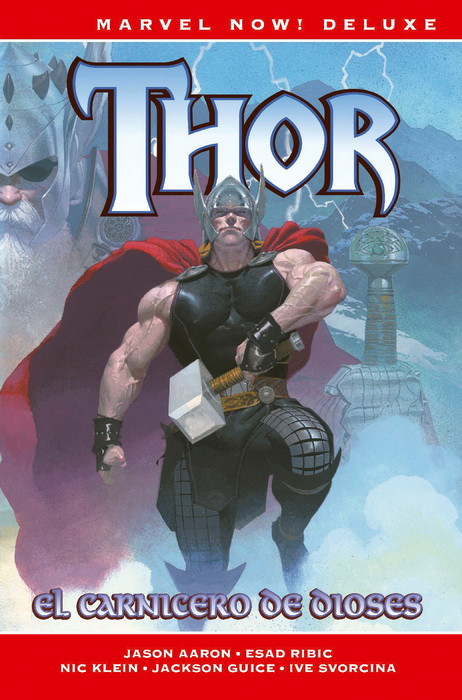 Marvel NOW! Deluxe. Thor de Jason Aaron 1 portada