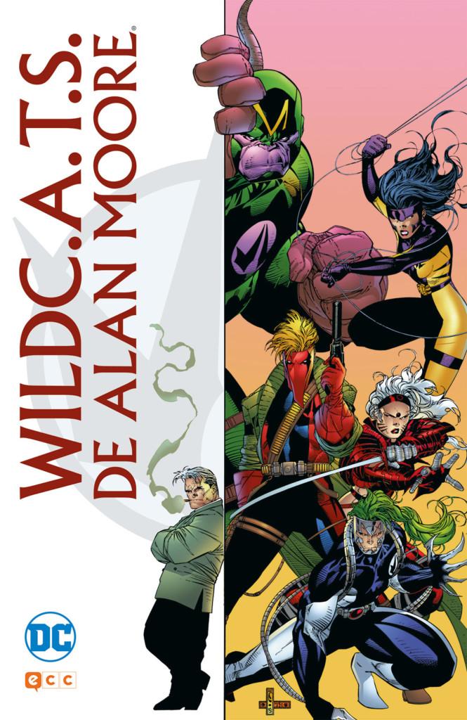 WildC.A.T.S. de Alan Moore portada
