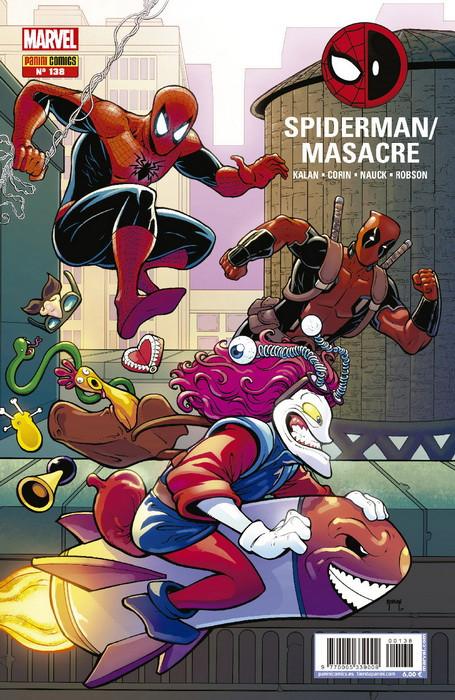 asombroso spiderman 138