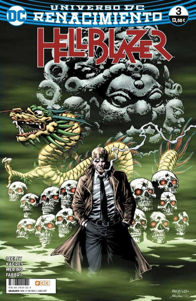 Hellblazer nº3 portada