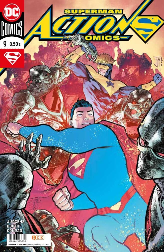 superman action comics 9