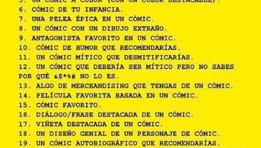Reto Pensadores de viñetas (XXIX)